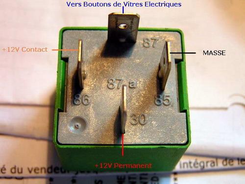 Schema relais electrique